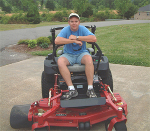 Zero Turn Radius Mower